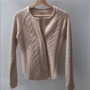 Anthropologie Knitted & Knotted Sweater /Jacket